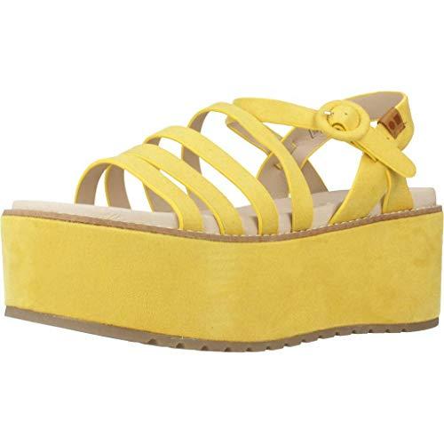 Coolway Damen Sandalen Sandaletten CENIE Gelb 40 EU