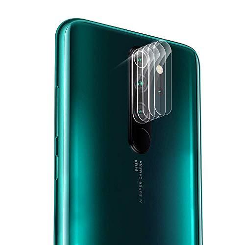 Olycism 5 Piezas Protector de Lente para Xiaomi Redmi Note 8 Pro Alta Definición Ultra Clara Cámara Trasera Lente Película Cristal.