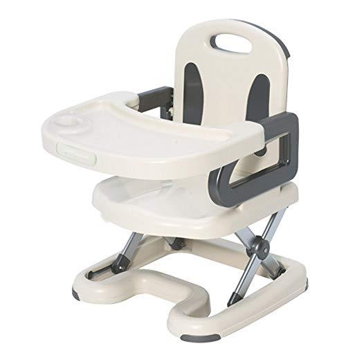 CJY- Cushion Multifunktionsbabyhochstuhl, Klapp Und Mobile Säuglingsernährung Seat - Mit Abnehmbarem Tablett Und Sicherheitsgurt, Höhenverstellbar Geeignet Für Haus Und Reise