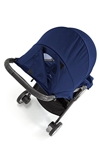 Baby Jogger City Tour Stroller | Compact Travel Stroller | Lightweight Baby Stroller with Backpack-Style Carry Bag, Perfect for Travel, Cobalt