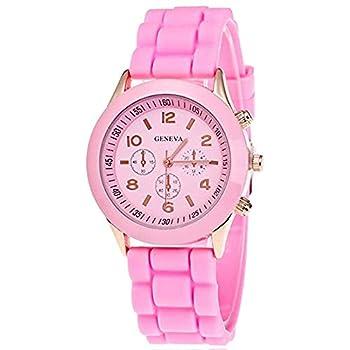 Best geneva pink watch Reviews