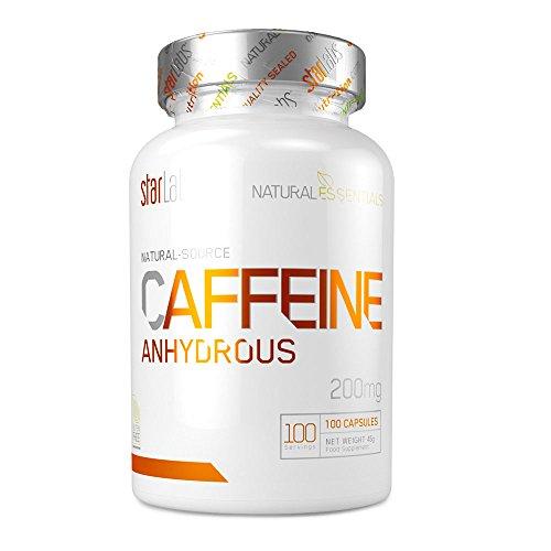 Starlabs Nutrition Caffeine - 100 Cápsulas