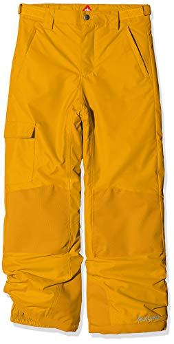 Columbia Wasserdichte Skihose für Kinder, Bugaboo II Pant, Nylon, Gelb (Golden Yellow), Gr. XS, 1806712