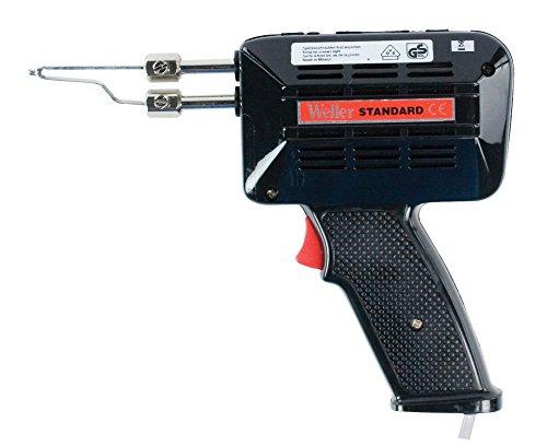 Weller 9200UC (T0050206399) 100 Watt/230 Volt Lötpistole Standard mit Schwarzem Gehäuse und Kupferlötspitze