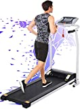 FUNMILY Treadmill, Treadmills for Home with LCD Motorized Running Walking Jogging Exercise Fitness Machine Trainer Equipment for Home Gym Office