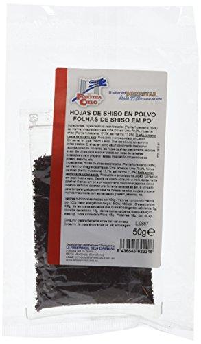 Hojas de shiso en polvo - La Finestra sul Cielo - 50 gr.