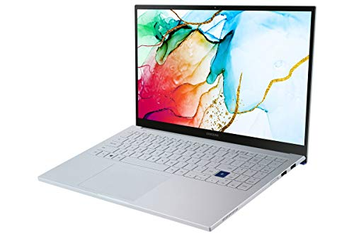 Samsung Galaxy Book ION 39,62 cm (15,6 Zoll) Notebook (Intel Core i7-1065G7, 16 GB RAM, 512 GB SSD, Windows 10 Home) aura silver