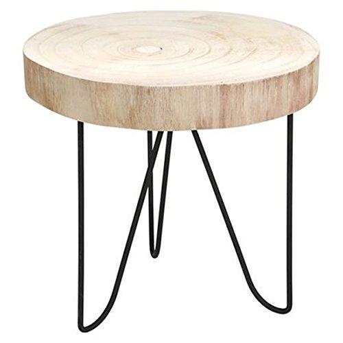 BURI Dekotisch 29,5x29cm Beistelltisch Pflanzenhocker Holztisch Nachttisch Ablage