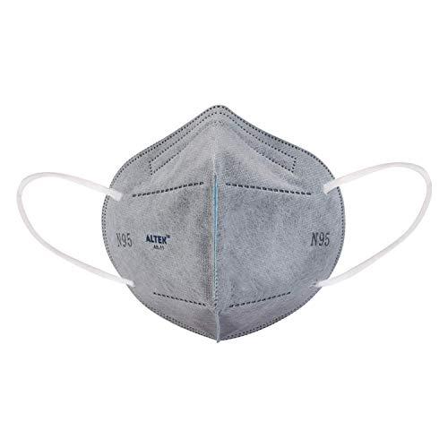 NOVEX Altek Polypropylene Face Mask with Earloop (Grey) Pack of 5