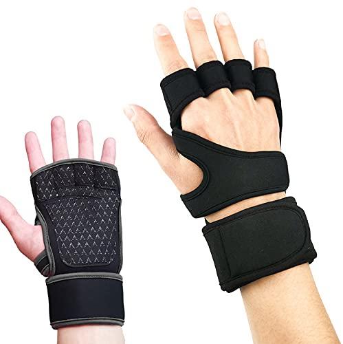 CENSUNG Juego de mancuernas ajustables peso 24 kg / 48 kg con asa y placa de pesas para hombre / mujer que hace ejercicio en casa (Guantes de fitness)