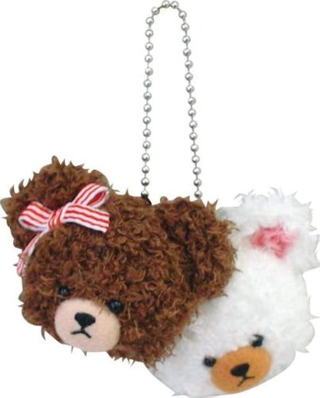 Kumanogakkou Mokomoko Jackie u0026 David pairs mascot