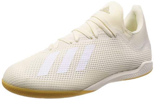 adidas X Tango 18.3 in, Chaussures de Futsal Homme, Blanc (Casbla/Ftwbla/Dormet 0), 46 EU