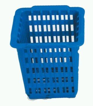 Spülkorb Besteckkorb blau