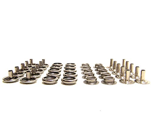 Screw Stud 3//8 100/% Stainless Steel Construction 25 Piece Set Fasnap #8-18 Shipped from The USA