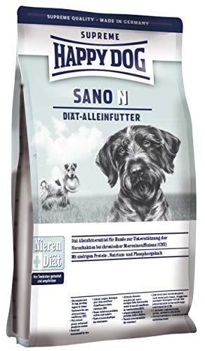 Happy Dog 03380 Nahrungsergänzung - Sano N - Diät-Alleinfutter für ausgewachsene Hunde mit Nierenerkrankung - 7,5 kg Inhalt