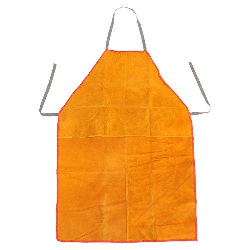 MASUNN lassers lassen schort chroom leer Tan zware dienst smid, Yellow, 1