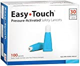 Easy Touch Pressure Activated Safety Lancets - 30G