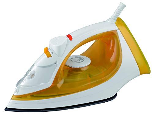 USHA SI 3816 1600-Watt Steam Iron (Yellow/White)