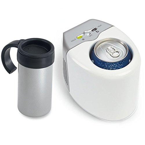 L&Z Voiture Réfrigérée Tasse Tasse De Voiture Mini Chaud Et Froid Coupe Étudiant Chaud Et Froid Réfrigérateur Voiture Double Usage Réfrigéré