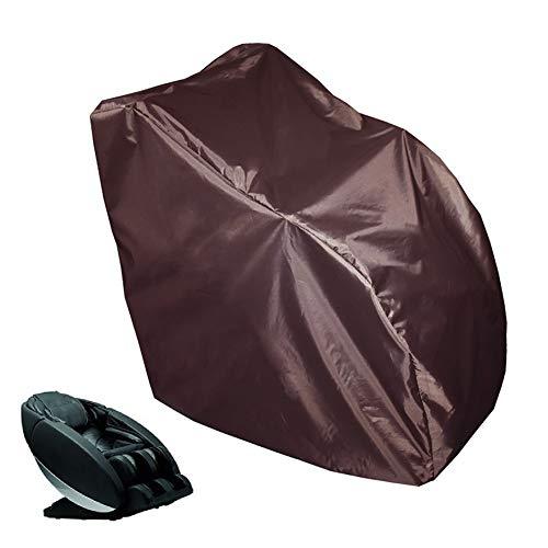 HHYK Muebles de ratán Fundas for sillas de Masaje Cubierta de la Silla reclinable ala Fundas Cubierta de Polvo Impermeable Protector Solar a Prueba de Mascotas for Sofá Sillón de Masaje, 2 Colores