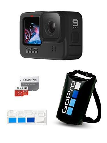 【GoPro公式限定】GoPro HERO9 Black + 認定SDカード + ドライバッグ + ステッカー 【国内正規品】