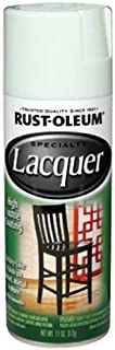 Rust-Oleum 1904830 Lacquer Spray, 11-Ounce, Gloss White