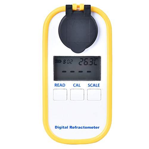 Kaffeekonzentrationsmesser Kaffeedensitometer TDS-Messwerkzeug Refraktometer für Zuckergetränke Coffee Shop für den Heimgebrauch
