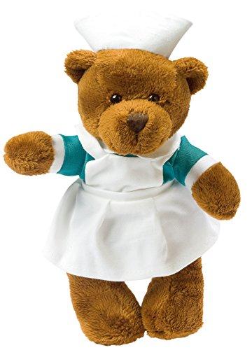 Stofftier Plüschtier Kuscheltier Teddybär Bär Krankenschwester, Pflege, Medizin, Teddy