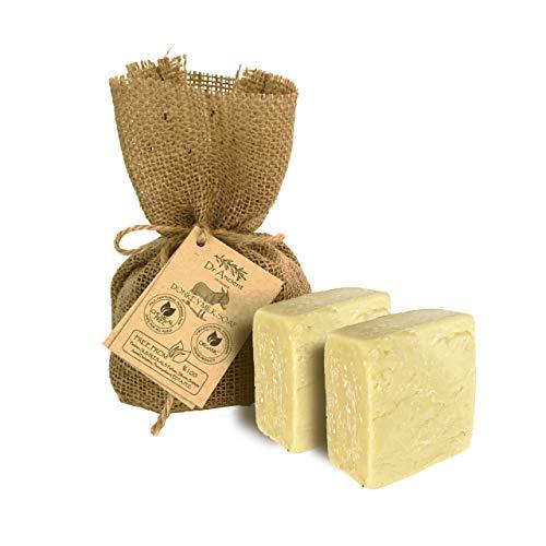 Organisch Natuurlijk Traditioneel Handgemaakt Antiek Ezelinnenmelk Zeep + Geitenmelk Zeep - Geen Chemicaliën, Pure Natuurlijke Zeep!