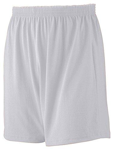 Augusta Sportswear Jersey Knit Short, Small, Athletic Heather