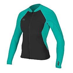 top rated Women's Jacket with Zipper O'Neill Reactor-21.5 mm, Black / Light Blue, 12 2021