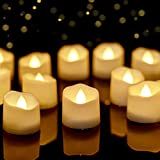 Best Flameless Tea Lights - Homemory Timer Tea Lights Bulk, Lasts 2X Longer Review