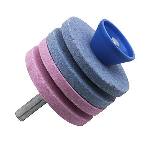 Mola Multistrato Mola Per Affilare Pietra Per Affilare Fine Speciale Universale Resistente All'usura Affilacoltelli Accessori Per Utensili Domestici Utensili Da Cucina (pink)