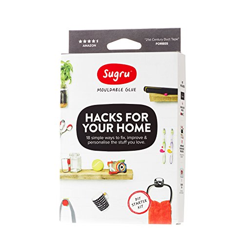 Sugru Moldable Glue  Hacks For Your Home Kit