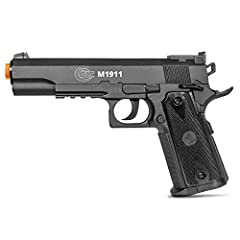 Powerful CO2: 400-450 FPS with .20g ammo Ready to play: Semi-automatic shoots 6mm ammo. Magazine holds 12 rounds Replica: made with heavy duty polymer for a realistic feel. Weighs 1.3lbs Hop-up: creates a back-spin effect on ammo to provide longer sh...