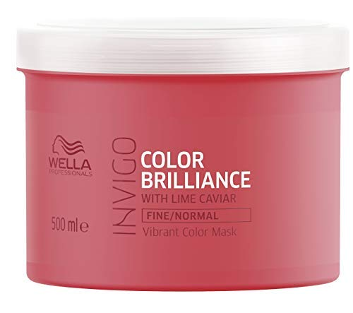 Wella Professionals Invigo Color Brilliance Vibrant Color Mask Fine/Normal, 500 ml