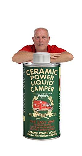 CERAMIC POWER LIQUID TRATTAMENTO MOTORE ATTIVO PER 100.000 KM Ceramic power liquid Traitement Moteur actif pour 100 000 km Camper 600 ml pour moteurs jusqu'à 3000 cc.