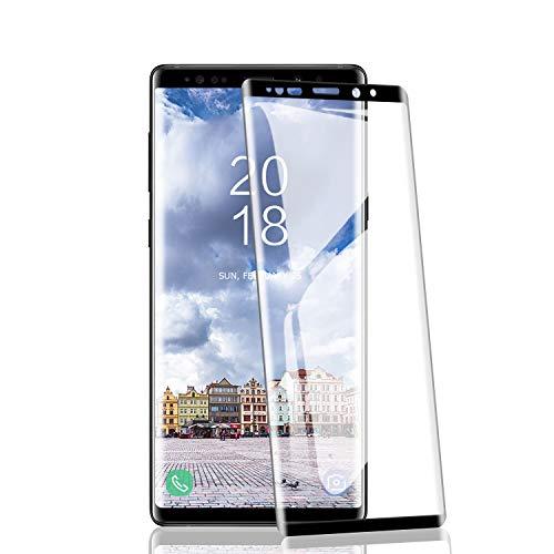 RIIMUHIR 2 Pezzi Vetro temperato per Samsung Galaxy Note 9, durezza 9H, Senza Bolle, Anti-Impronta Digitale, Anti-Olio, Ultra-chiarezza, Trasparente