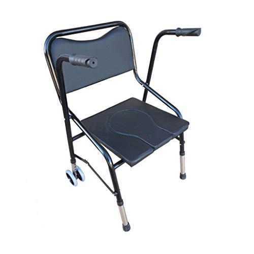 Toiletstoel verrijdbaar inklapbare armleuning voor badkamerstoel ergonomische stoel toiletten voor ouderen en kinderen multifunctionele toiletstoel