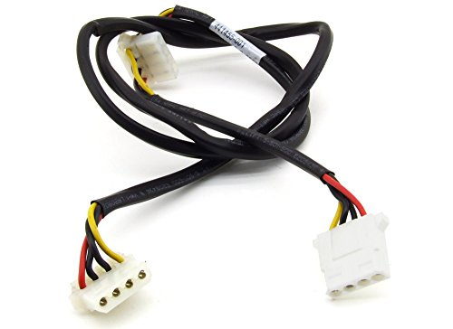 HP 4-Pin Molex Straight to 2x Angled Internal Media Power Cable 87cm 441455-001 (gecertificeerd en gereviseerd)