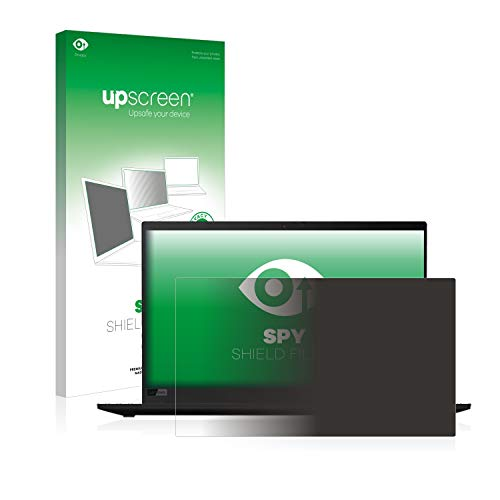 upscreen Blickschutzfilter kompatibel mit Lenovo ThinkPad X1 Carbon (7. Generation) Privacy Filter - Anti-Spy Blickschutzfolie Sichtschutz-Folie