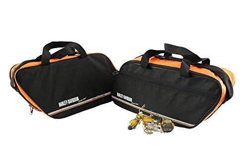 made4bikers: Bedruckte Innentaschen passend für die Kunststoff Koffer der Harley-Davidson Road King sowie Road-, Street- und E-Glide Modelle