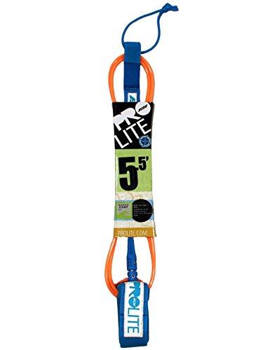 ProLite Leash de Surf, Naranja Fluorescente, 5'5'