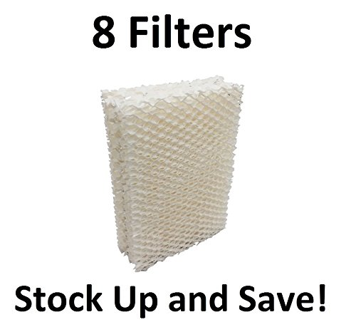 EAGLEGGO Humidifier Wick Filter for Emerson Essick Air HDC-12 - 8 Pack