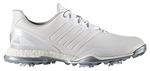 adidas Damen Adipower Boost Golfschuhe, Weiß (White/White/Matte Silver),  36 2/3 EU