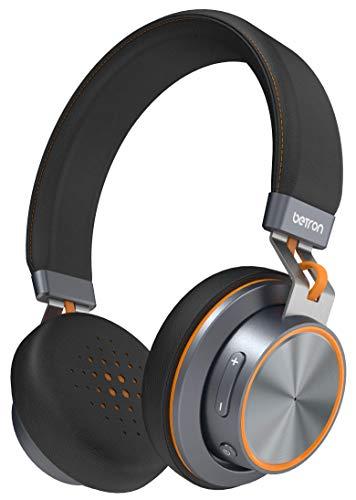 Betron S2Kabelloser Bluetooth On-Ear-Kopfhörer mit bassbetontem Klang