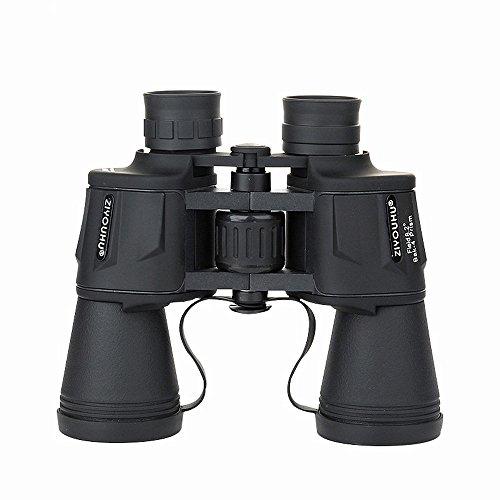 YLiansong KompaKtes HD-Profi-Teleskop Hohe Vergrößerung Ferngläser 20X50 High-Definition-Low-Light Nachtsicht-Betrachtungsgläser für den Außenbereich (Farbe : Schwarz)