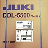 juki ddl 5550 - Juki DDL-5550 LockStitch Industrial Sewing Machine Table,servo Motor,lamp,Made in Japan DIY