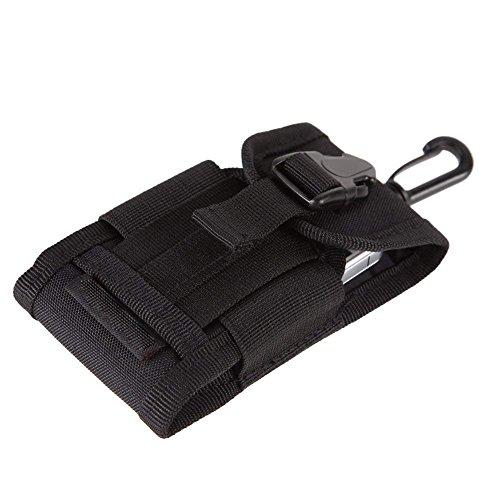 DierCosy Tactique Molle Pouch Imperméable Tactique Camouflage Poche Téléphone Pocket Cas Mêle Veste Tactique Attachment Sac de Taille Pack avec Holster de Téléphone Cellulaire