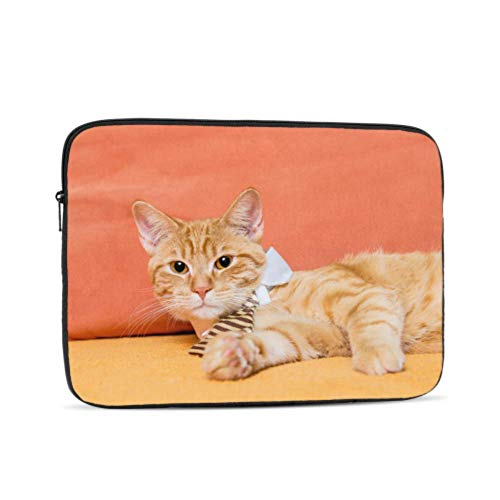 Laptop Pro Accessories Cat Wearing Tie Portrait 13inch Macbook Pro Case Multi-Color & Size Choices10/12/13/15/17 Inch Computer Tablet Briefcase Carrying Bag